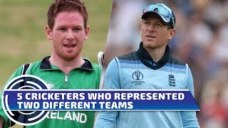 5 Cricketers who played for two countries