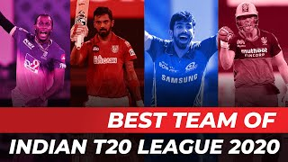 Best XI of Indian T20 League 2020