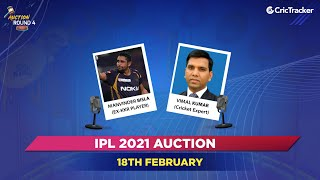 IPL Round Four 2021 Live Show - Auction Day