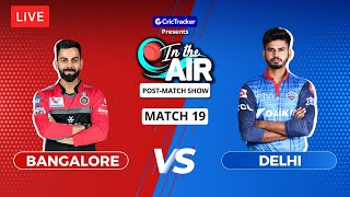 Bangalore v Delhi - Post-Match Show - In the Air - Indian T20 League Match 19