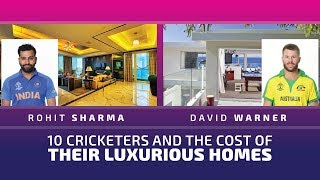 10 cricketers and the cost of their luxurious houses | Four Indians on the list