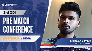 Shreyas Iyer Revealed His Plans Against Short Balls From Australia Pacer, Pre Match Press Conference