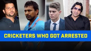 5 Famous Cricketers who got Arrested  | Suresh Raina, Wasim Akram | Cricketers Who Went Jail