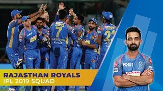 IPL 2019: Rajasthan Royals (RR) Full Squad | Rahane to lead | Jos Buttler to open