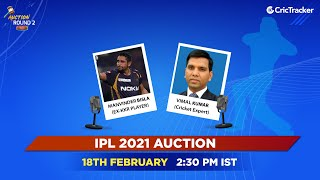 IPL Round Two 2021 Live Show - Auction Day