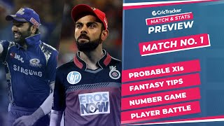 IPL 2021: Match 1, MI vs RCB Predicted Playing 11, Match Preview & Head to Head Record - April 9th