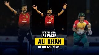 Interview: USA cricketer Ali Khan - Struggles, Playing CPL, IPL contract with KKR and more