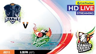 Zambia T10 League Live Streaming, Match 12, Lusaka Heats vs Kitwe Kings