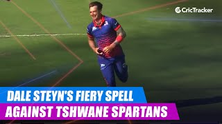 MSL 2019: Man Of The Match Dale Steyn's fiery spell against Tshwane Spartans