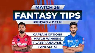 Punjab vs Delhi Team Prediction, 11Wickets Fantasy Cricket Tips, Indian T20 League, 11Wickets Tips
