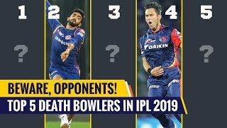 IPL 2019: Top 5 death bowlers in the tournament | Jasprit Bumrah & Boult in the list