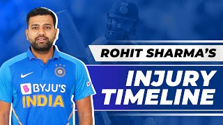The Story Of  Rohit Sharma's 'Injury' Controversy & The Mysteries Behind His Omission From AUS Tour