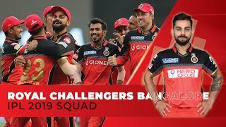 IPL 2019: Royal Challengers Bangalore (RCB) full squad | Kohli to lead | AB de in middle-order