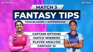 TRA vs SUP, 11Wickets Fantasy Cricket Tips, Women's T20 Challenge, 11Wickets Fantasy Tips