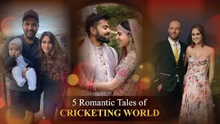 5 Romantic Love Stories of Cricketers | Beautiful Love Stories of Star Cricketers From ABD to MSD