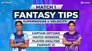 SUP vs VEL Team Prediction, 11Wickets Fantasy Cricket Tips, Women's T20 Challenge