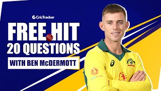 Which Australian Cricketer googles himself the most? | 20 Questions With Aussie Ben McDermott | EP 6