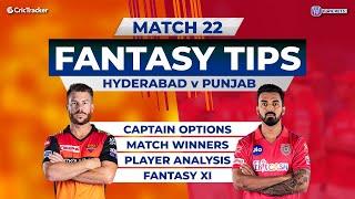 Hyderabad v Punjab Team Prediction,11Wickets Fantasy Cricket Tips, Indian T20 League, 11Wickets Tips