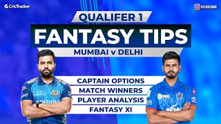 Mumbai vs Delhi - Qualifier 1, 11Wickets Fantasy Cricket Tips, Indian T20 League