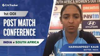 India Women Lost Their Rhythm In Year-Long Break: Harmanpreet Kaur, Press Conference, IND W vs SA W