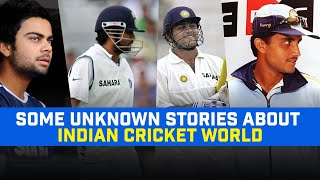 Rahul Dravid Declared When Sachin Tendulkar Batting On 194 | Unknown Stories Of Indian Cricket