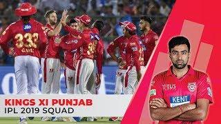 IPL 2019: Kings XI Punjab (KXIP) Full Squad | Ravi Ashwin to lead | KL Rahul as opener
