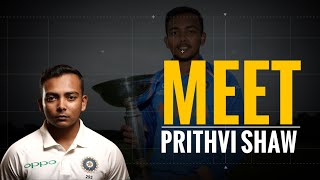 Prithvi Shaw Biography | Career | Childhood | Story Of A Child Prodigy Who Overcame All Hurdles