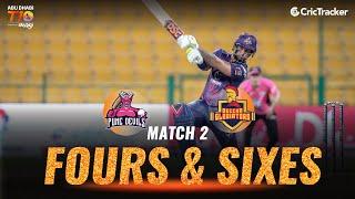 Match 2 - Pune Devils vs Deccan Gladiators, Fours & Sixes, Abu Dhabi T10 League 2021