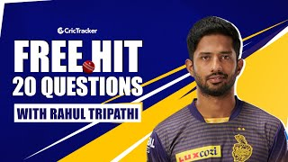 Best Moment in IPL 2021? Your Famous SRK Dialogue? | Freehit with Rahul Tripathi | Ep -15