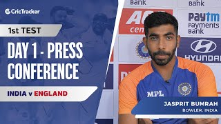 I'm not someone who needs crowd noise for motivation: Jasprit Bumrah, Press Conference, IND vs ENG