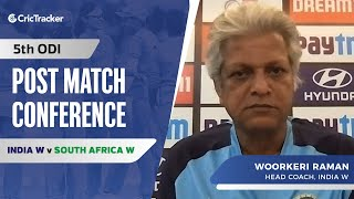 Not Easy To Come Back After 15 months: WV Raman, Press conference, IND W vs SA W