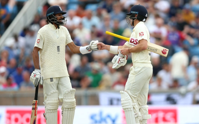 Haseeb Hameed and Rory Burns. (Photo Source: Getty Images)