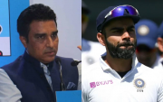 Sanjay Manjrekar and Virat Kohli. (Photo Source: Getty Images)