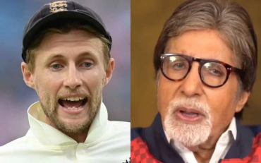 Joe Root and Amitabh Bachchan. (Photo Source: Getty Images/Instagram)