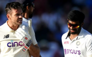 James Anderson and Jasprit Bumrah. (Photo by Zac Goodwin/PA Images via Getty Images)