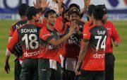 Bangladesh Cricket Team. (Photo by MUNIR UZ ZAMAN/AFP via Getty Images)
