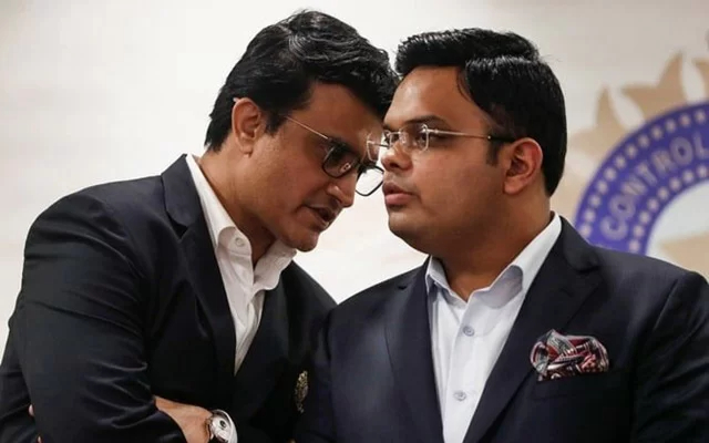 Sourav Ganguly and Jay Shah. (Photo Source: Twitter)