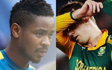 South African player Khaya Zondo