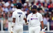 KL Rahul and Rohit Sharma. (Photo by Stu Forster/Getty Images)