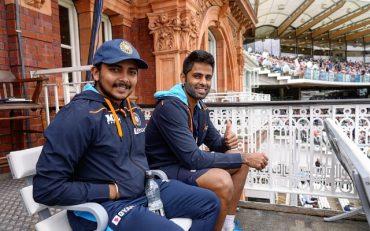 Suryakumar Yadav and Prithvi Shaw. (Photo Source: Twitter)