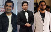 Gautam Gambhir, Sachin Tendulkar, and Yuvraj Singh. (Photo Source: Getty Images)