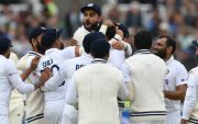 Indian Cricket Team. (Photo by Mike Hewitt/Getty Images)