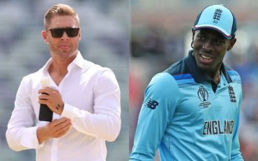 Michael Clarke and Jofra Archer. (Photo Source: Getty Images)