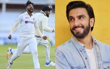 Mohammed Siraj and Ranveer Singh. (Photo Source: Instagram)