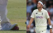 Stuart Broad. (Photo Source: SonyLiv and Getty Images)