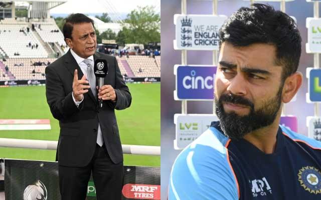 Sunil Gavaskar and Virat Kohli. (Photo Source: Getty Images)