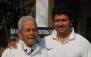 Vasoo Paranjape and Jatin Paranjape. (Photo Source: Twitter)