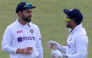 Virat Kohli and Rishabh Pant. (Photo Source: Sony Liv)