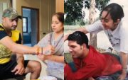 Yuvraj Singh And Harbhajan Singh With Family (Image Credit- Instagram)