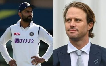 Virat Kohli and Nick Compton. (Photo Source: Getty Images)